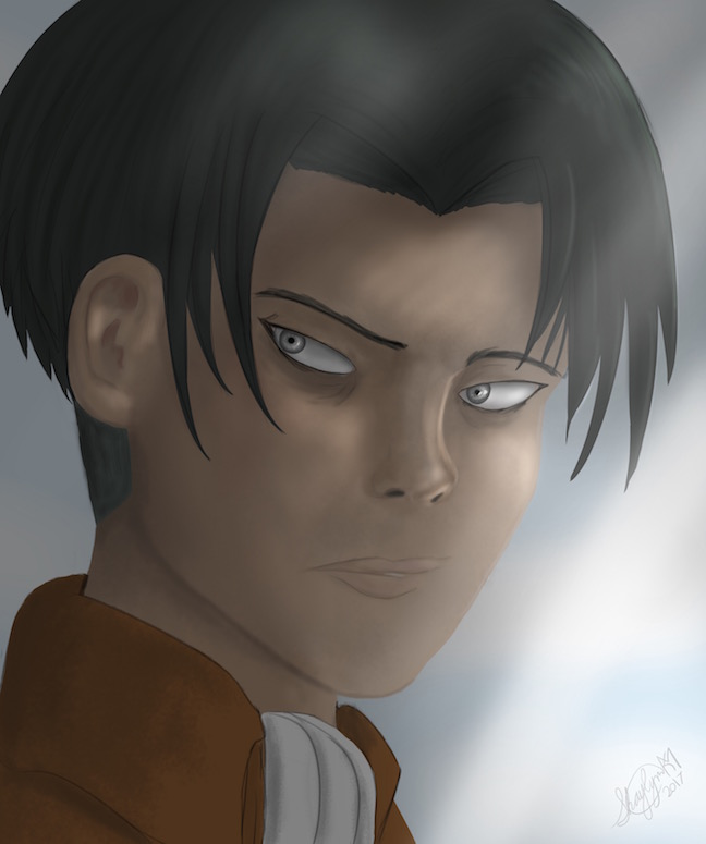 Levi (Attack on Titan fanart)